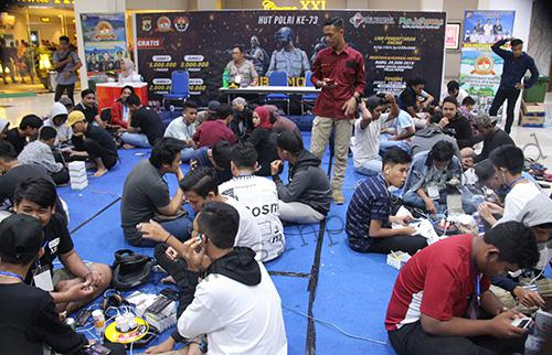 400 Pemuda Ikuti Bhayangkara PUBG Championship