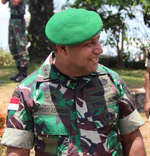 Herman Asaribab Promosi Wakasad Cenderawasih Pos