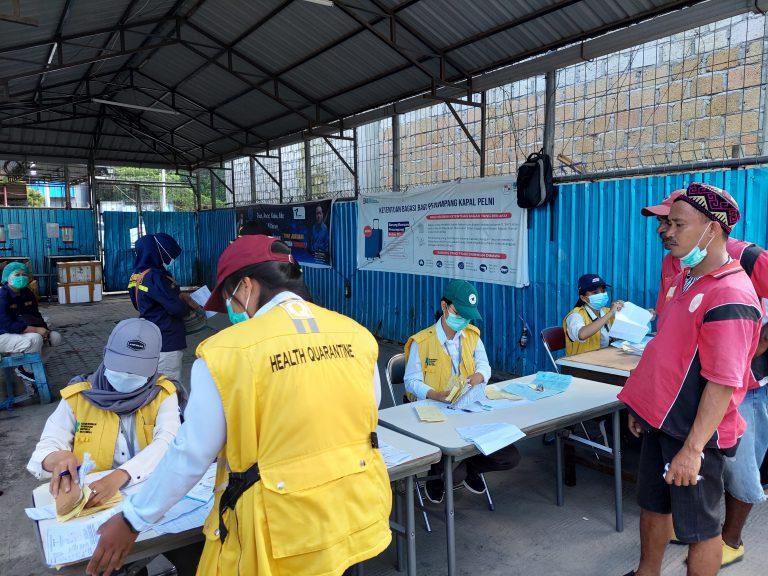 Antisipasi Arus Balik, Ratusan Personel Diterjunkan di Pelabuhan Laut Jayapura